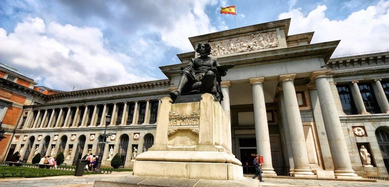 Velázquez a las puertas del Museo del Prado