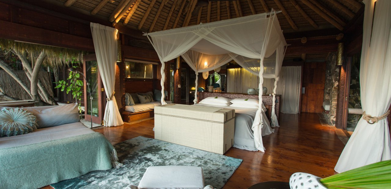 Villa privada North Island Seychelles
