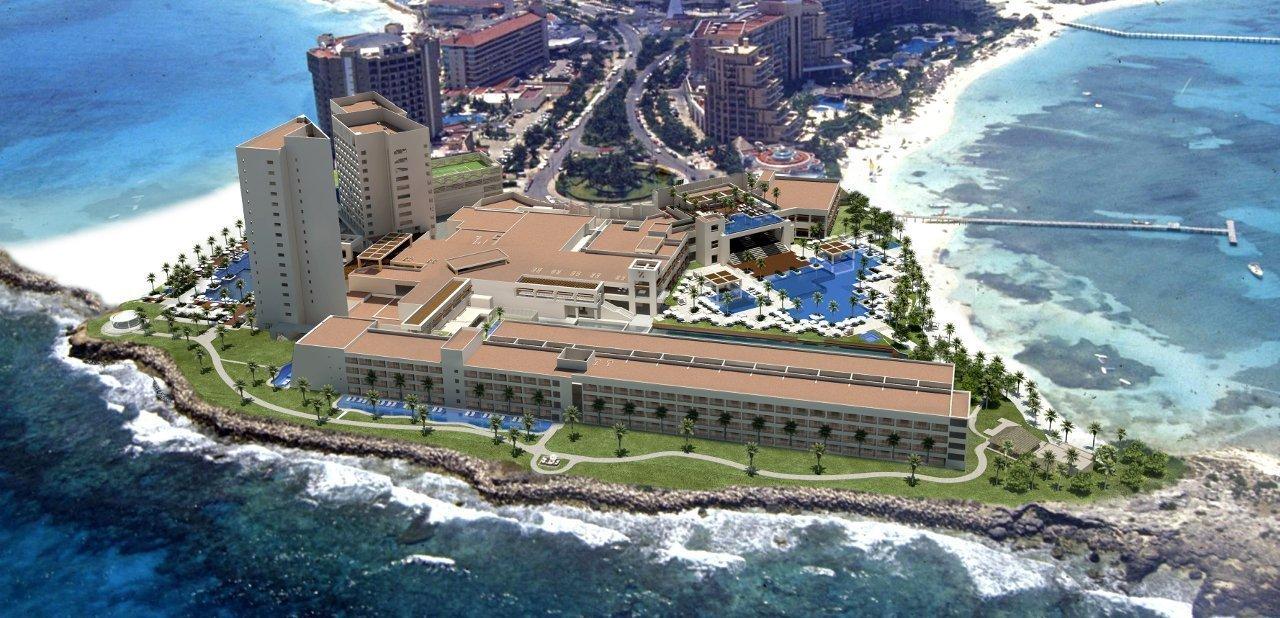 vista aérea de Hyatt Zilara hotel