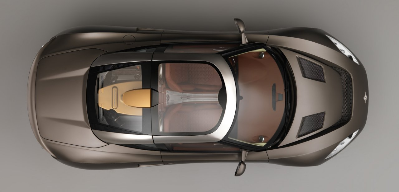 Vista cenital del Spyker C8 Preliator