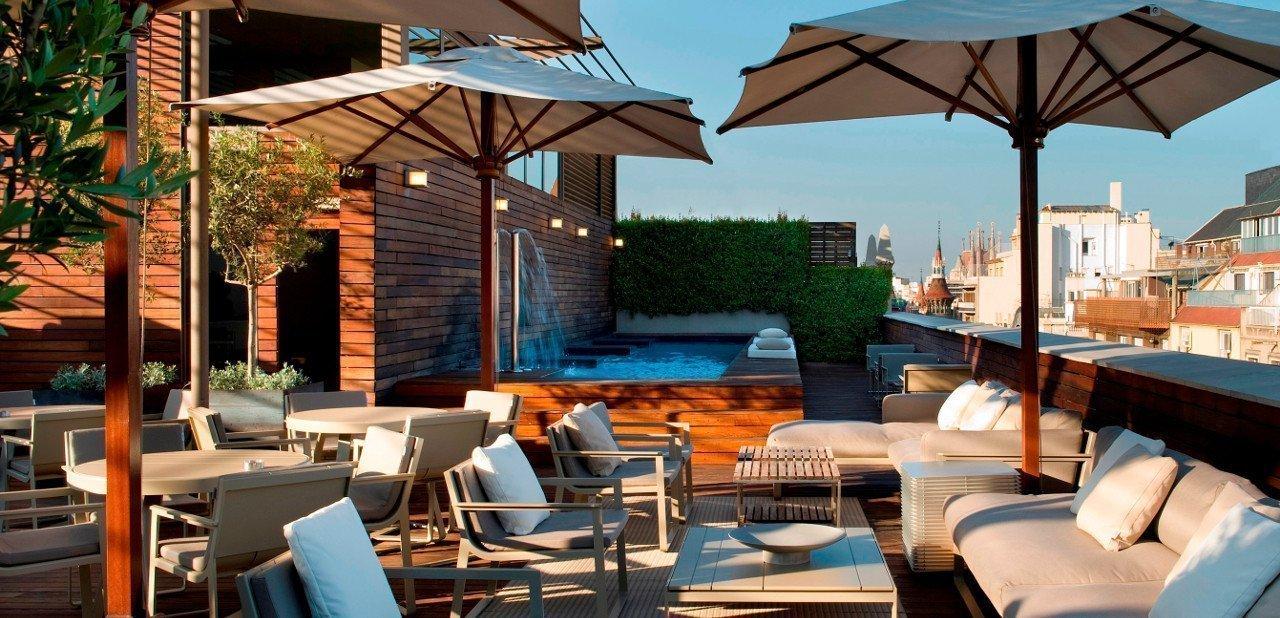 Hotel omm lujo dise o y gastronom a en barcelona for Hotel barcelona diseno