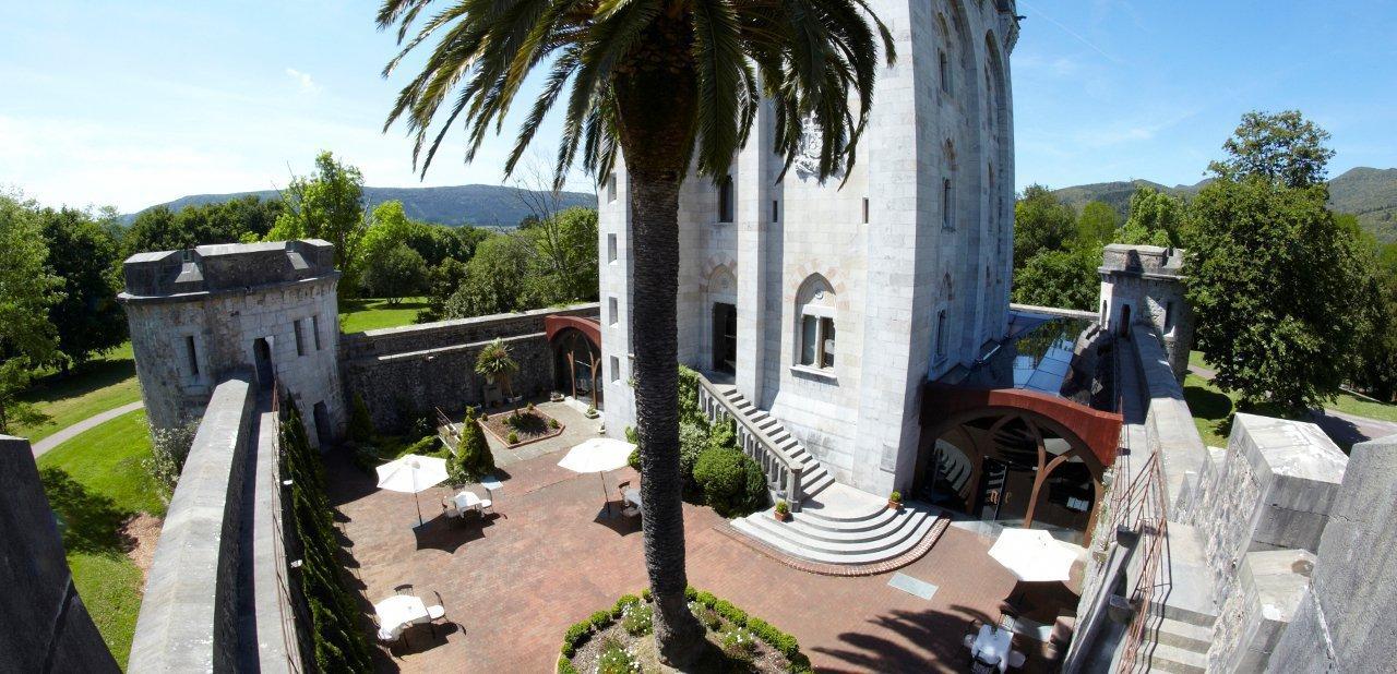 vista del Castillo de Arteaga