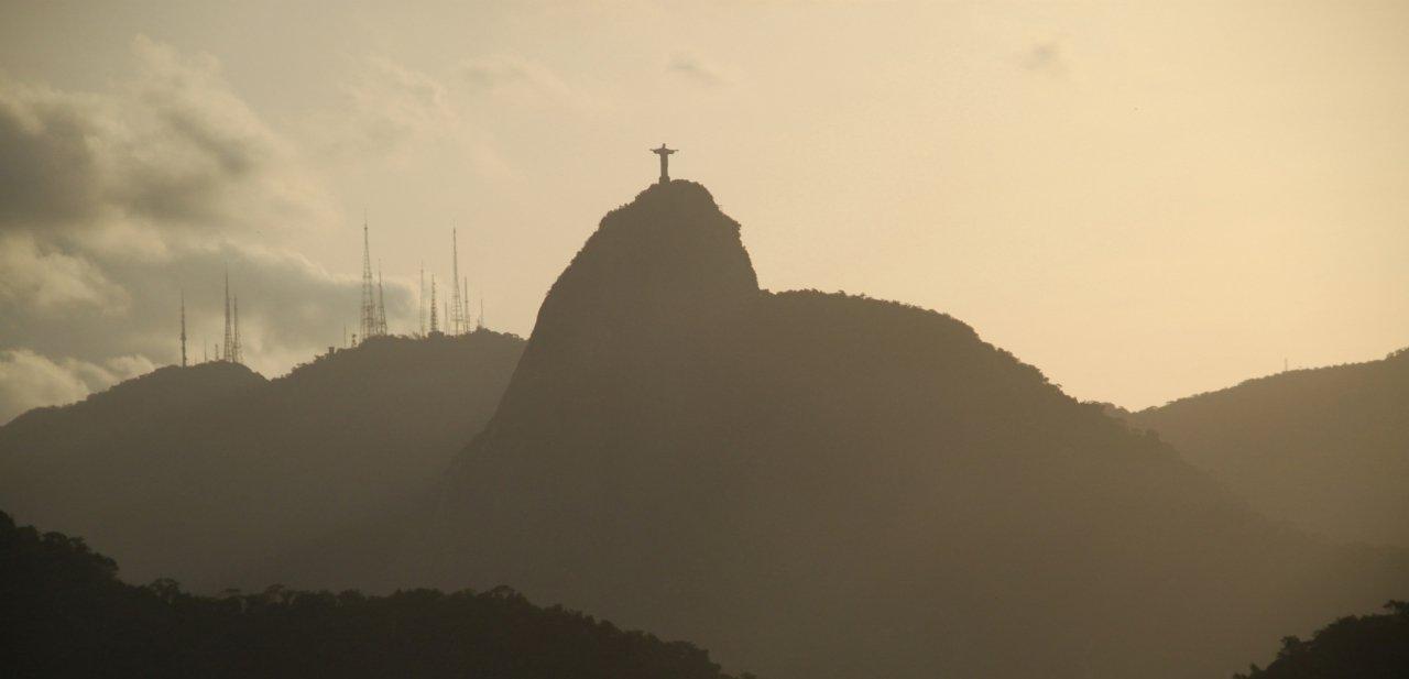 Vista del cerro del Corcovado