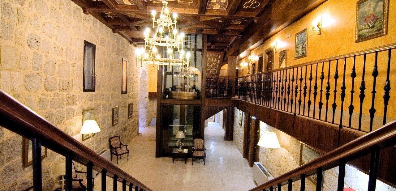 Vista del hall del Hotel Señorío de Olmillos