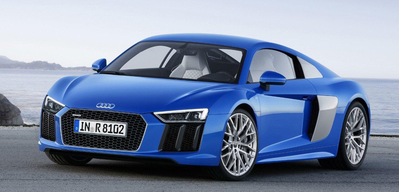 Vista en circuito del Audi R8