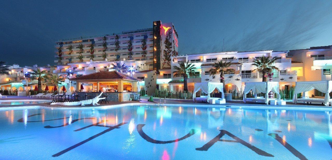 Vista general del Ushuaia Ibiza Beach Hotel