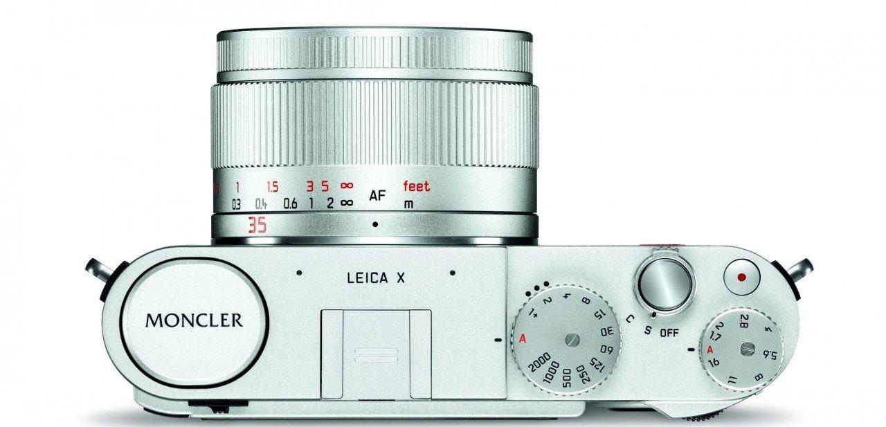 "Vista superior de la Leica X ""Edition Monclet"""