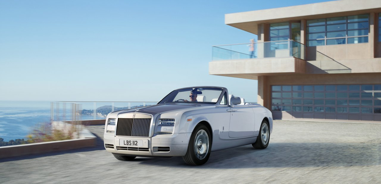 Vista total del Phantom Drophead Coupé
