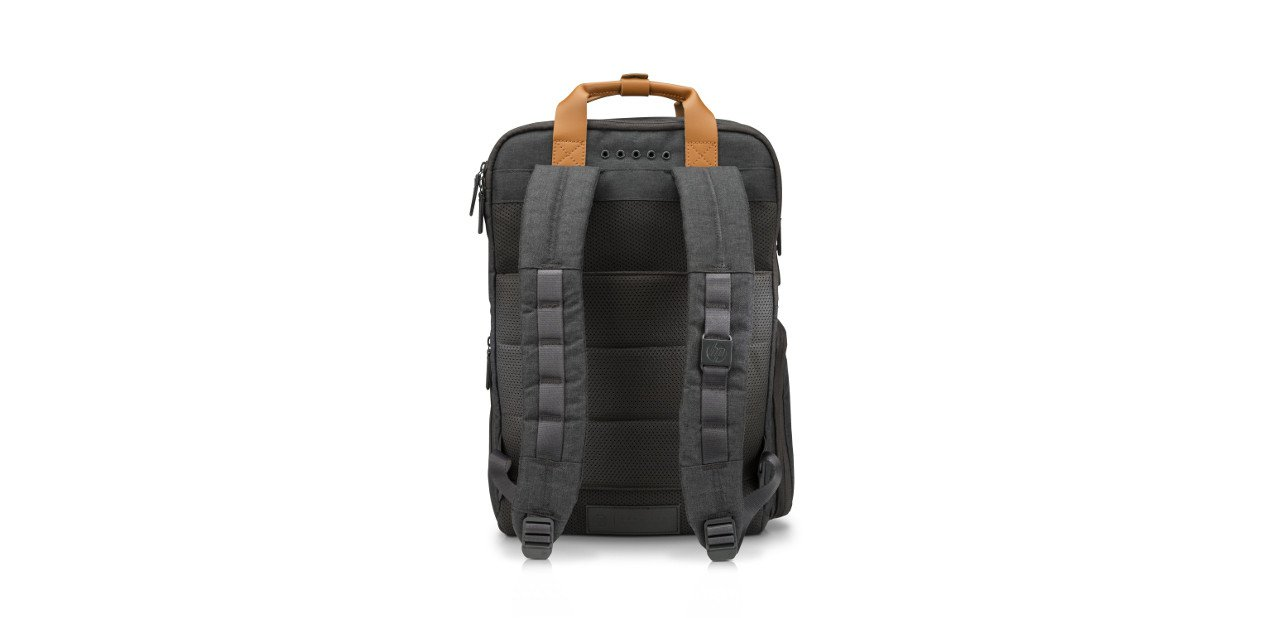 Vista trasera de la HP Powerup Backpack
