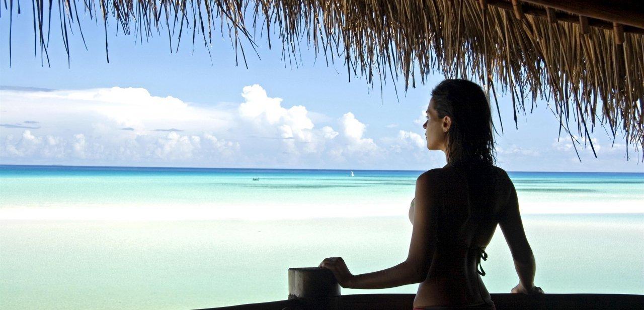 Vistas desde una de los alojamientos del Anantara Medjumbe Island Resort & Spa