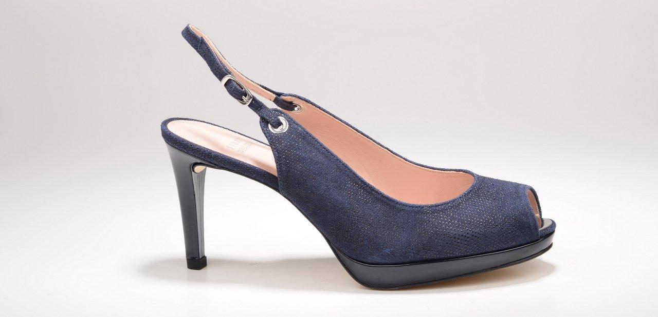 Zapatos azul denim Stuart Wetzman