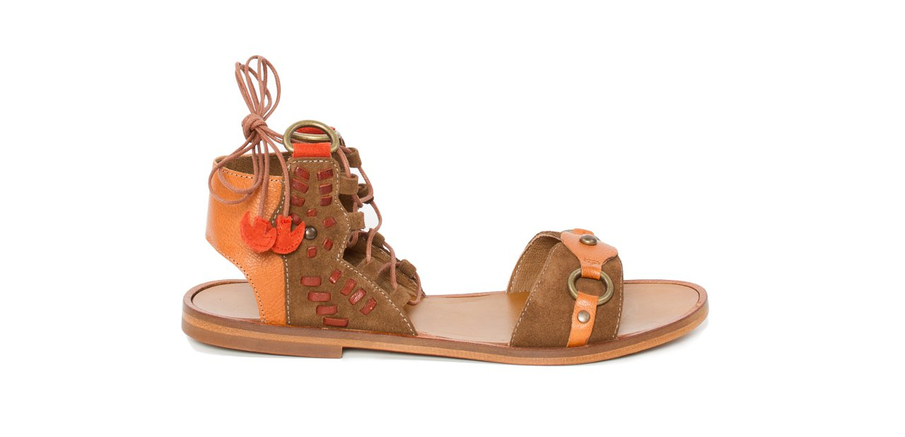 Zapatos pompones