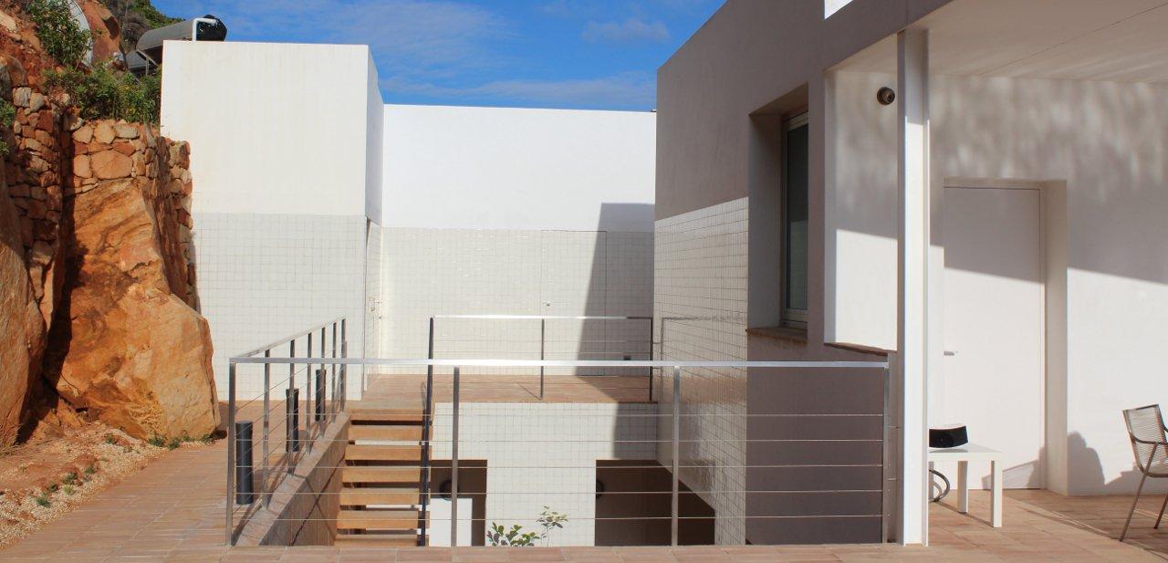 Zona exterior de Villa Mathesis